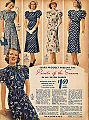 Fashion catalogue 1938