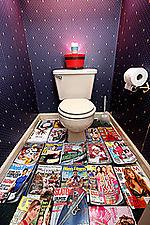 Bathroom reading selection