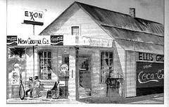 Depression gas station