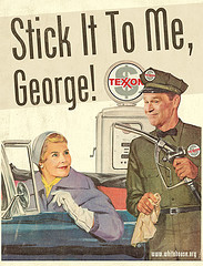 Gas stick it to me george