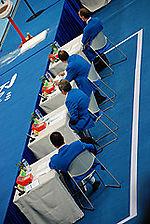 O-5 judges tables