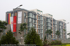 O-5 Olympic Village german team