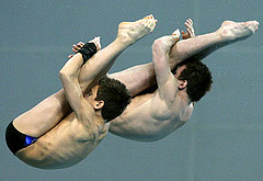 O-5 synchronized diving