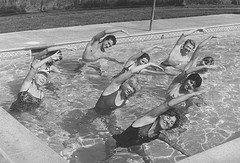 O-5 vintage water exercise group