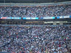 Palin huge crowds for obama