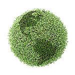 P3 green globe