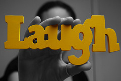 Laughing logo