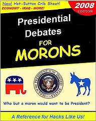 Debate presidential for morons