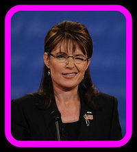 Palin winking