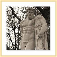 Oct Surprise statue castration