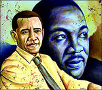 Obama and King
