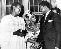 Miriam Makeba and Stokely wedding 1968