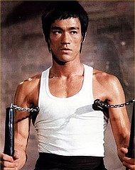 Bruce Lee nunchucks