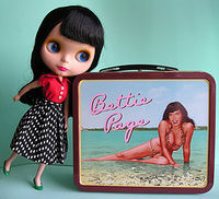 Bettie Page merchandise