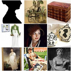 Jane Austen Reading Map