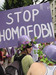 Irritants stop homophobia