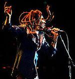 Bob Marley swinging hair