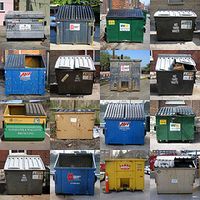 Can dumpsters