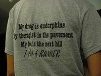 Endor runners t shirt
