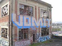 Libby vomit mural