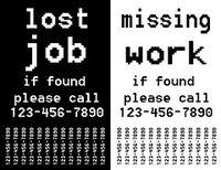 3 ways unemployment leaflet