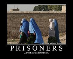 Afghan prisoners aren't always behind walls