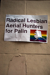Afghan radical lesbians for palin