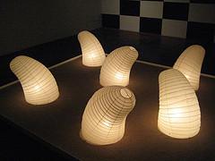 Ny noguchi glow worm lantern