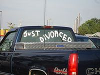 Wedding just divorced