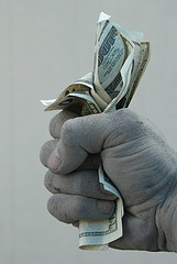 Quit fist of money