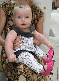 Heels on baby from NY Post