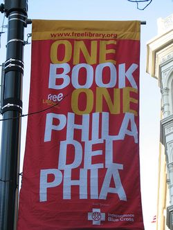 Library banner philly