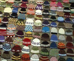 Bus wool hats