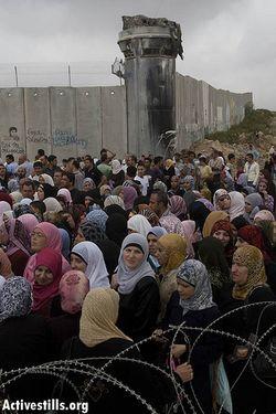 Checkpoint Qalandiya 9-2008