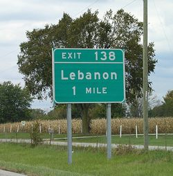 T&l lebanon sign