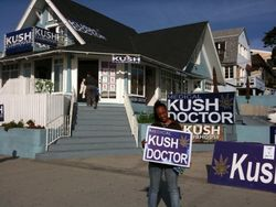 T&L Kush clubhouse with Dr