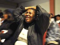 Haiti woman horrified