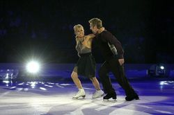 Ice dancing torville dean on tour