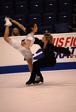 Ice Dance Davis and White