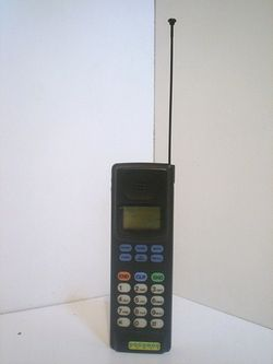 Cell phone vintage
