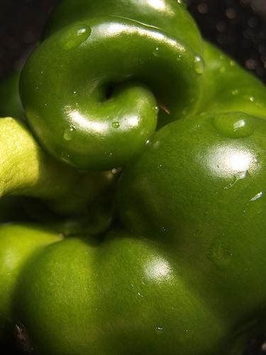 Pepper curvey green