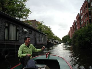 Amsterdam St N boat ride