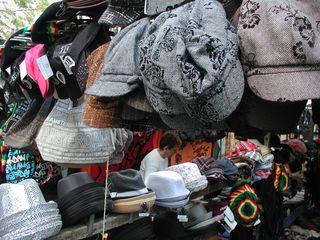 Amsterdam market hats