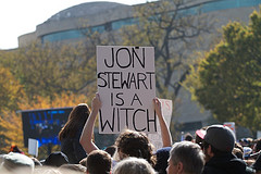 Stewart is a witch