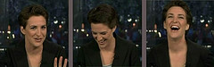 Maddow laughing