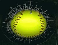 Softball barbed wire