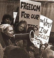 Grace Paley demo Iranian women