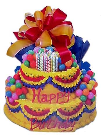 FB birthday cake