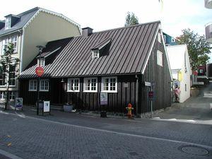 Iceland corregated metal siding
