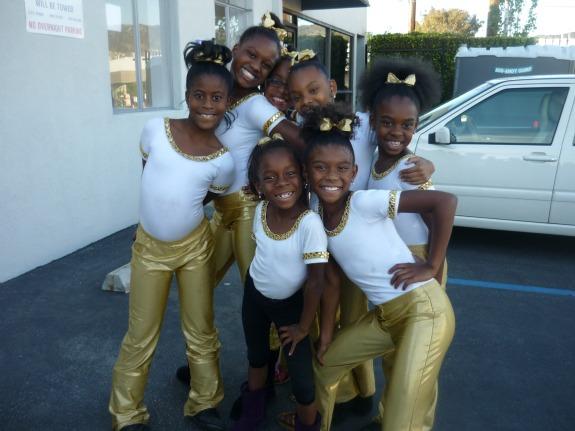 Live to Dance kids troupe